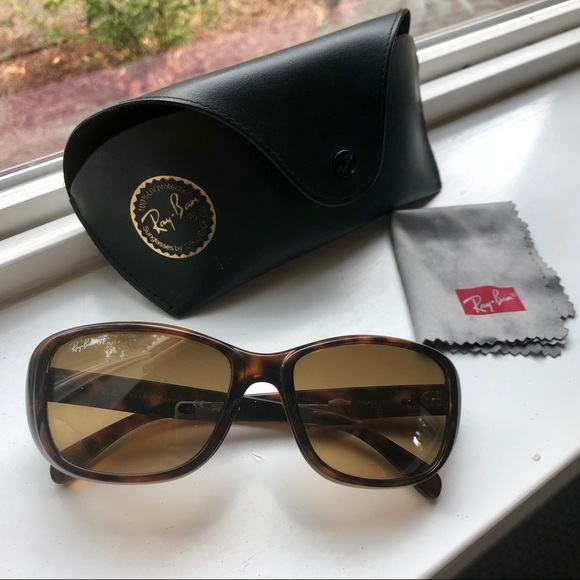 f449ea6d942ca Ray-Ban Jackie Ohh Tortoise Polarized Sunglasses.  M 5b70786e04ef508d05ffd226. Other Accessories ...